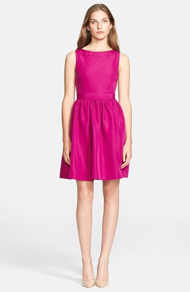 Ted Baker London 'Juletee' Stretch Woven Fit & Flare Dress