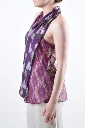 Anna Sui Halter Silk Top
