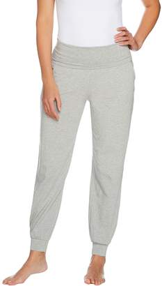 Anybody AnyBody Loungewear Cozy Knit Foldover Waist Jogger Pants