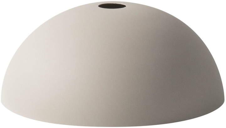 ferm living - Dome Shade Lampenschirm, Hellgrau