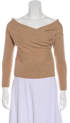 Michelle Mason V-Neck Wool Top
