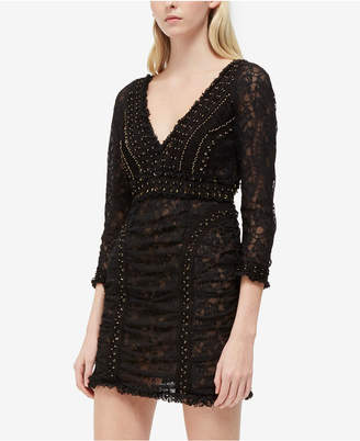 French Connection Lace O-Ring Dress