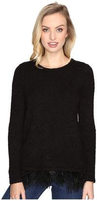 Kensie Textured Boucle Sweater KSDK5535 Women's Sweater
