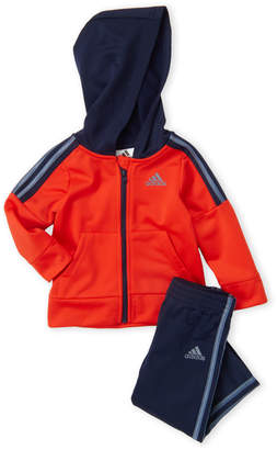 adidas Infant Boys) Two-Piece Zip Hoodie & Joggers Set