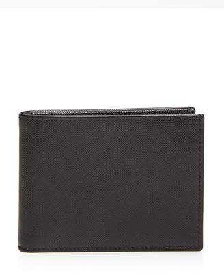 The Men's Store at Bloomingdale's Saffiano Bifold Wallet $95 thestylecure.com