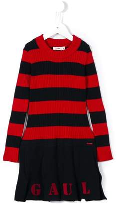 Junior Gaultier striped knitted dress