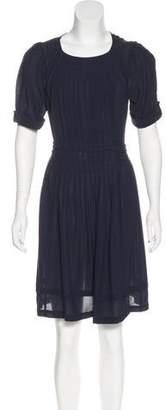 Balenciaga Silk Pleated Dress