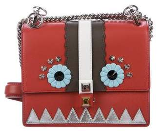 Fendi Small Kan I Faces Shoulder Bag