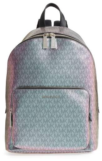Michael Kors Wythe Large Faux Leather Backpack