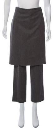 Givenchy Wool High-Rise Straight-Leg Pants