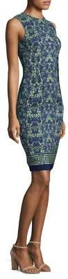 Versace Acanthus Sheath Dress
