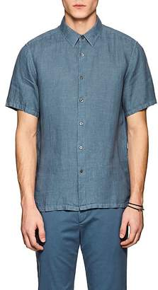 Theory Men's Irving Slub Linen Shirt