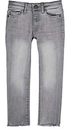 Chloé DL 1961 Kids' Distressed Jeans-Gray