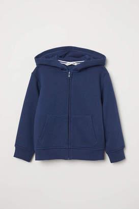 H&M Hooded Jacket - Dark blue - Kids