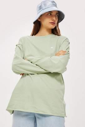 Topshop Long Sleeve Tunic T-Shirt