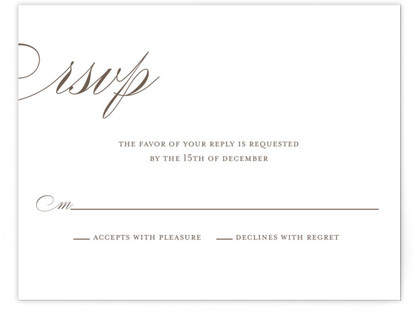 Sweet Scallop RSVP Cards