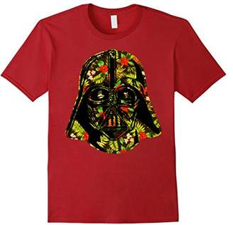 Star Wars Hawaiian Print Darth Vader Helmet T-Shirt C2