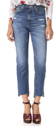 AG The Phoebe High Waisted Jeans $255 thestylecure.com