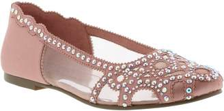Badgley Mischka Gigi Embellished Flat