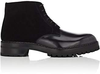 Fratelli Giacometti Men's Leather & Suede Chukka Boots