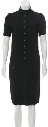 Saint Laurent Knit Midi Dress w/ Tags