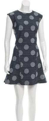 Kenzo Polka Dot Denim Dress