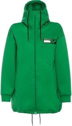Prada Technical nylon hoodie
