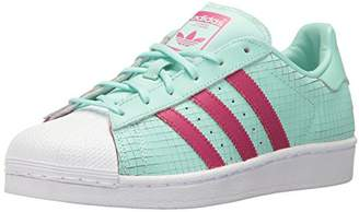 adidas Women's Superstar J Running Shoe