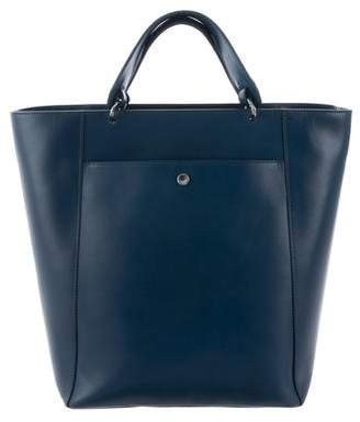 Elizabeth and James Large Leather Satchel w/ Tags