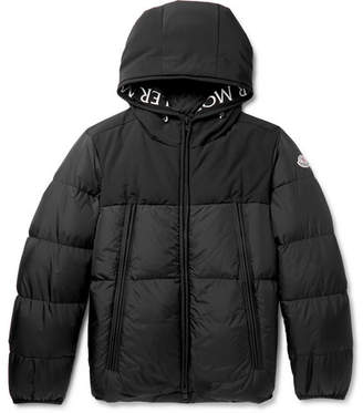 Moncler Montclar Quilted Shell Hooded Down Jacket - Men - Black