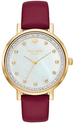 Pave monterey watch $225 thestylecure.com