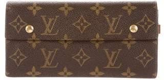 Louis Vuitton Monogram Accordion Wallet