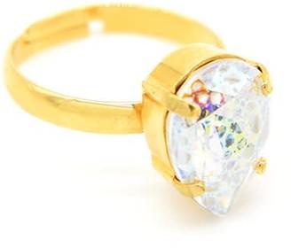 Rosaspina Firenze White Patina Drop Ring