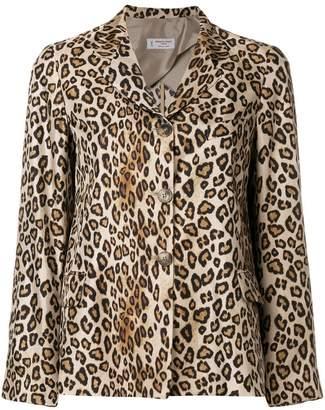 Alberto Biani leopard print jacket