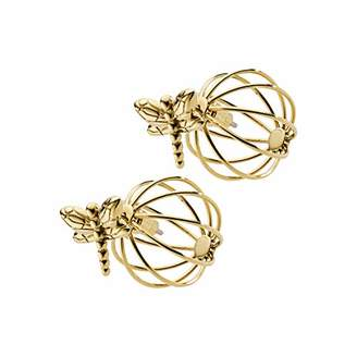Emporio Armani Women Stainless Steel Front & Back Earrings - EGS2557710