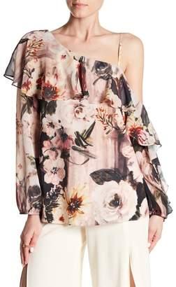 Haute Hippie Your Girl Floral Print Blouse