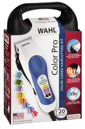 Wahl Color-Pro Color Coded Haircutting Kit, Model 79300-400