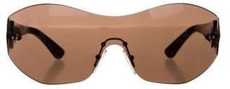 Emilio Pucci Tinted Shield Sunglasses