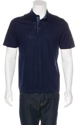 Salvatore Ferragamo Piqué Polo Shirt