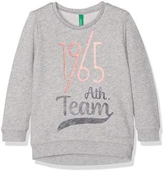 Benetton Girl's 3BUYC12VY Sweatshirt,(Manufacturer Size: 2Y)