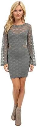 Free People Women's Lovely In Lace Bodycon Dress
