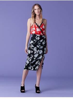 Diane von Furstenberg Ebony Midi Dress