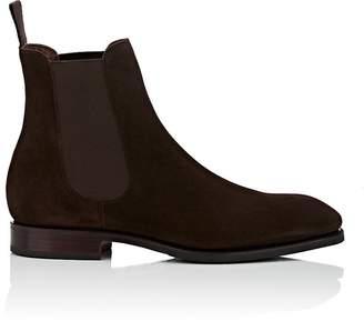 Carmina Shoemaker Men's Suede Chelsea Boots