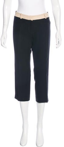 Christian Dior Wool Cropped Pants