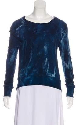 Pam & Gela Tie-Dye Printed Sweatshirt