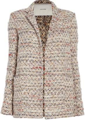 ADAM by Adam Lippes Cotton Tweed Long Blazer