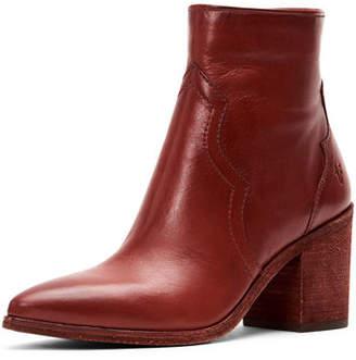 Frye Flynn Short Leather Western Boots