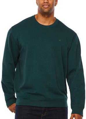 Izod Advantage Stretch Solid Fleece Crew Long Sleeve Sweatshirt Big and Tall