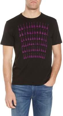 John Varvatos Guitar Rows Crewneck T-Shirt