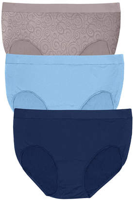 Bali 3 Pair Knit Brief Panty Vb90